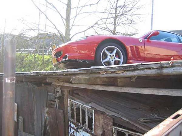 屋頂當車庫‧大陸爆發戶3