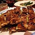 烤雞肉串,5份