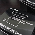 GH-1:可轉接37mm鏡頭或濾鏡