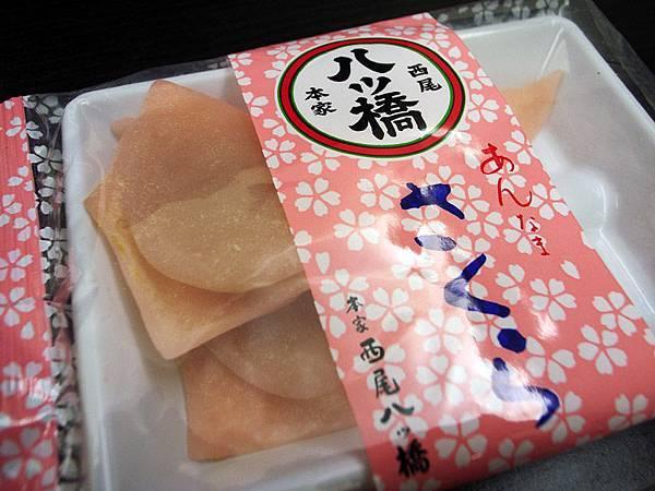 日本產的麻薯,一包有4個吧