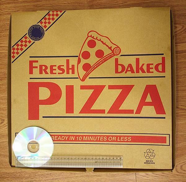COSTCO fullsize pizza 夏威夷口味(1)