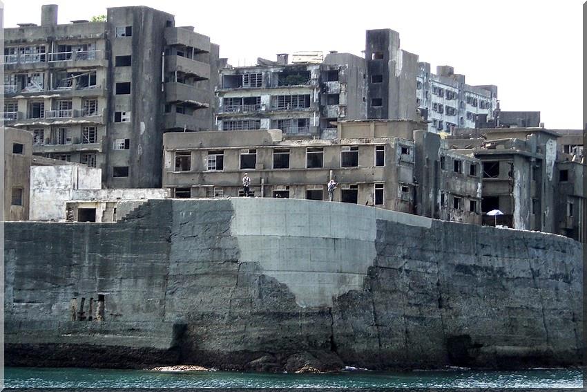 北側端島病院、隔離病棟