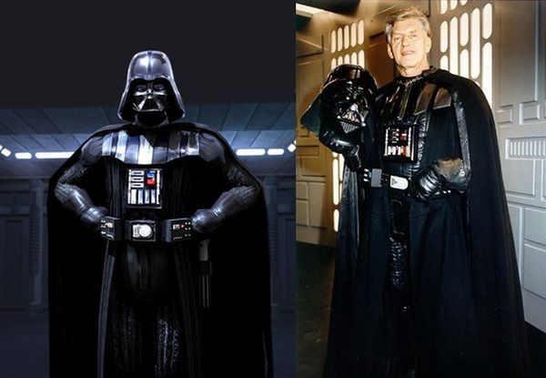 Darth Vader in the Star Wars series was played by David Prowse