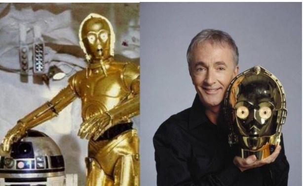 Anthony Daniels – C-3PO in Star Wars