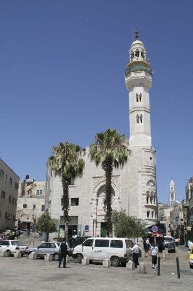 伯利恆中心的奧瑪爾清真寺