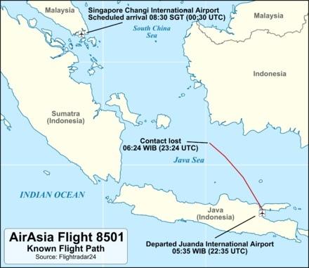 QZ8501_flight_path