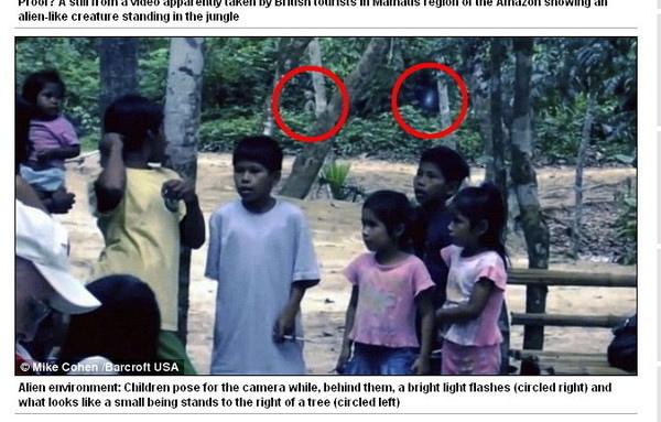 巴西雨林驚現外星人5