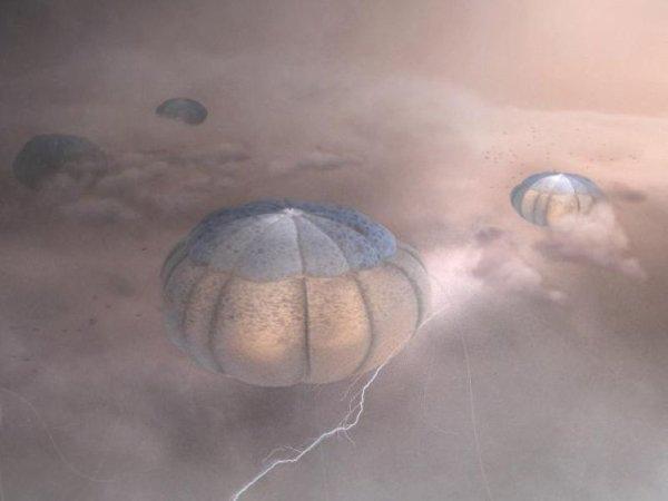 水母一樣的外星人