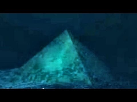 海底奇怪金字塔