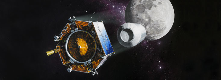 The Lunar Crater Observation and Sensing Satellite