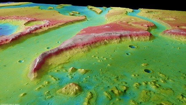 「火星」曾有海洋存在