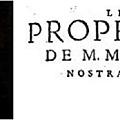Les Propheties