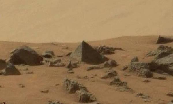 Mars Curiosity Pyramid