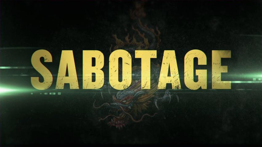 Sabotage-poster