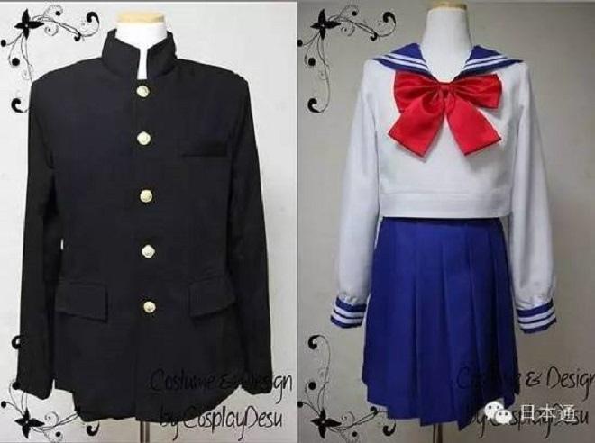 日本高中生校服
