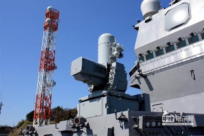 出雲號配備的RAM近防導彈系統