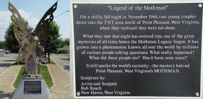 mothman-statue