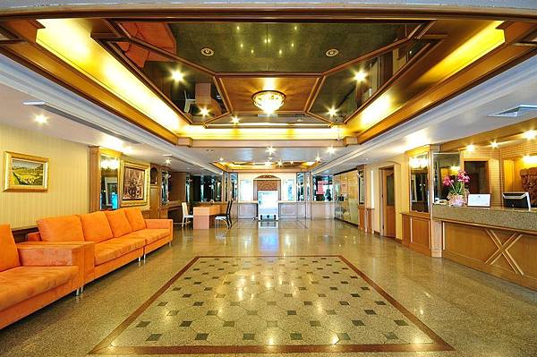 Chaleena Hotel lobby