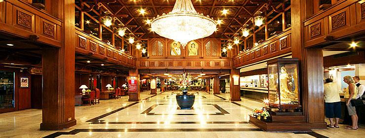 Bangkok Palace Hotel dining