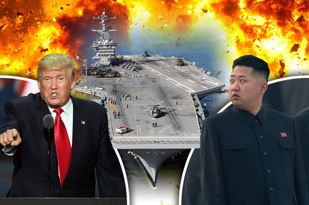 north-korea-kim-jong-un-donald-trump-nuclear-threat-uss-john-c-stennis-584269