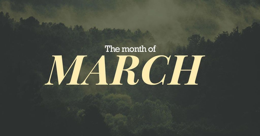 the-month-march