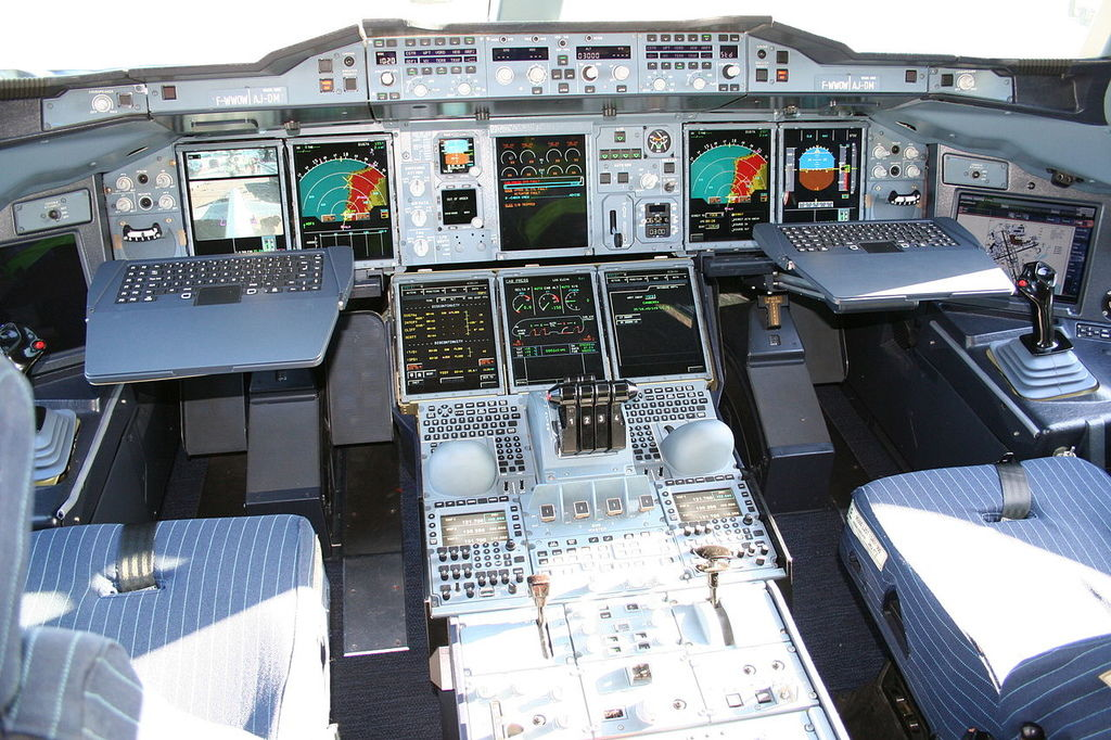 a380 control panel