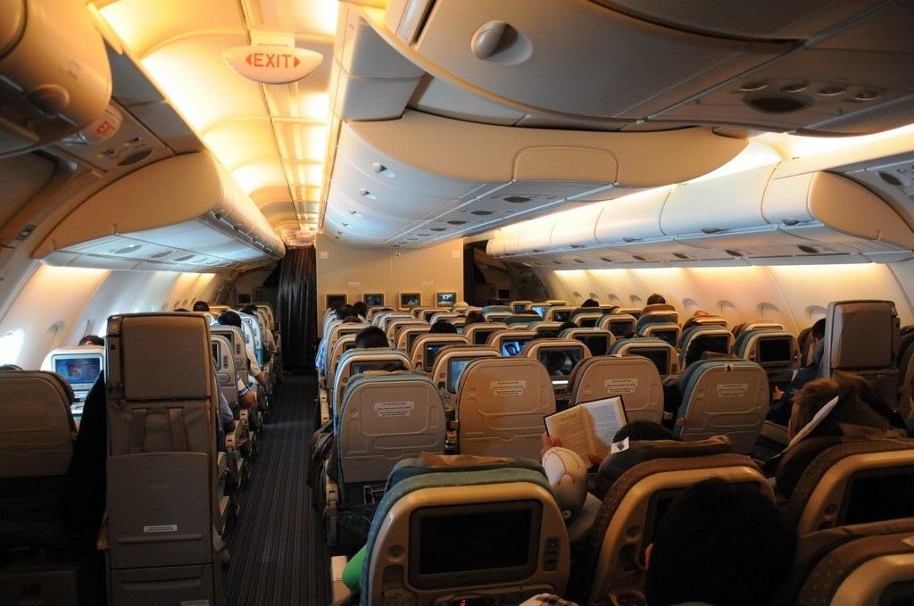 A380 inside