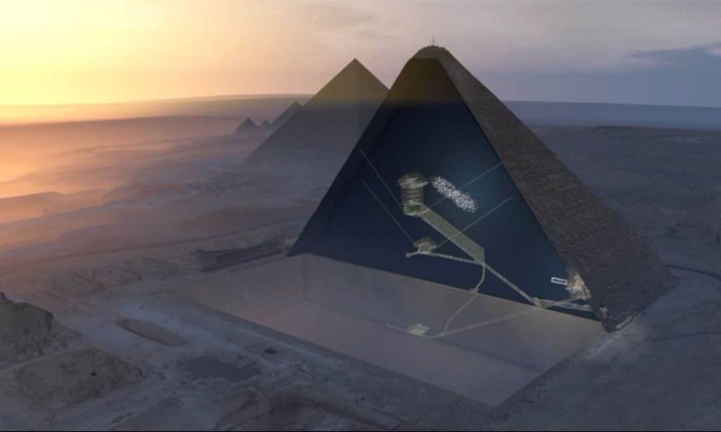 Muon Scanning Finds Hidden Chamber in Great Pyramid