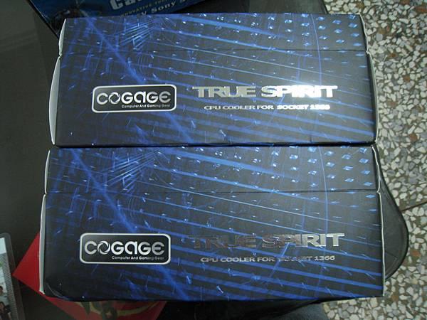 Cogage True Spirit *2,第一次買 CPU散熱器。