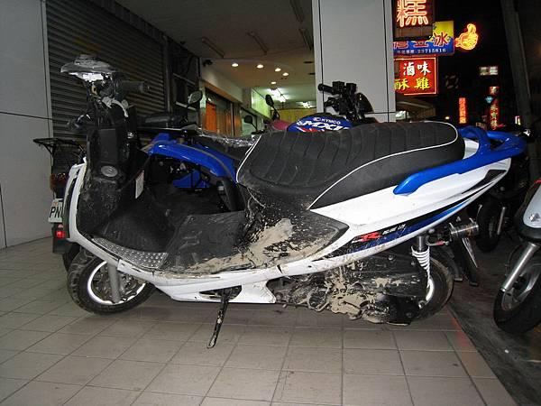 撞爛的 GSR 01