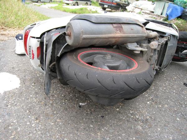 現場07-風光後輪,TT92,那是輪胎剎車痕吧