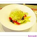 外星人餐廳 前菜~照燒醬生菜沙拉