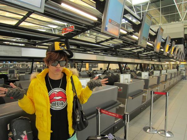 歐洲空中交通癱瘓 汪東城暫時回不了台灣