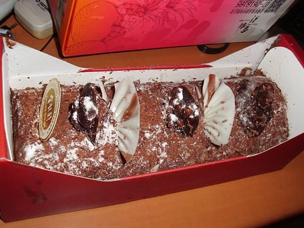 葉子的香焦巧克力~-2