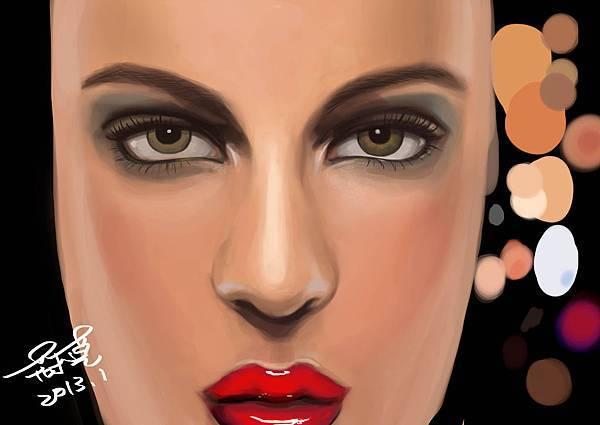 眼臉練習20130120