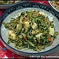 沖繩當地名菜-苦瓜炒豆腐