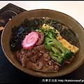 五目烏龍麵,意思是有五種食材