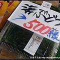 海葡萄一小盒也要日幣500,那我寧願選生魚片