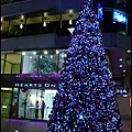 忠孝東路Bistro 98的聖誕樹