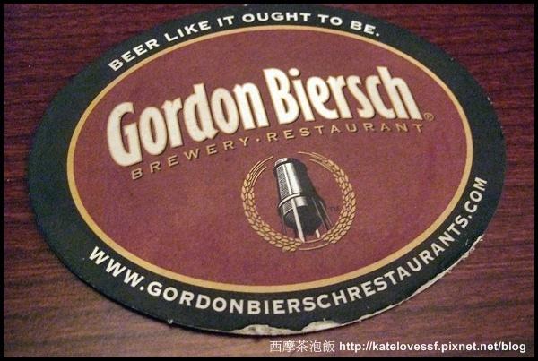 位於新光三越A11館的美式餐廳Gordon Biersch