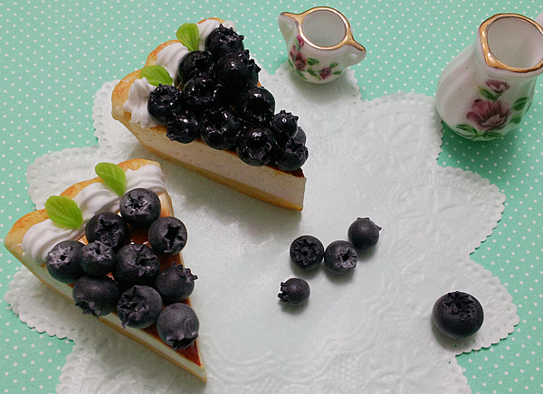 黏土藍莓派