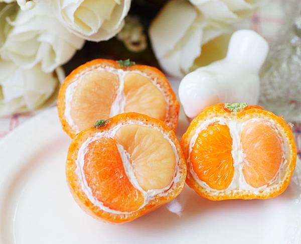 甜點黏土 橘子