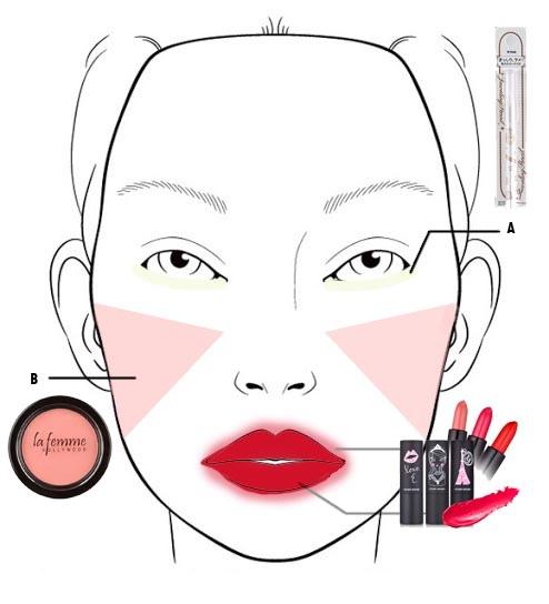 makeup step product