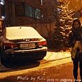 20101128/朋友也是第一次看到雪呢!