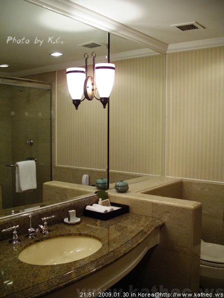 新羅飯店/浴室