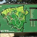 N首爾塔前廣場 - 南山公園地圖