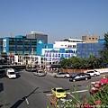 從天橋上拍首爾動畫中心