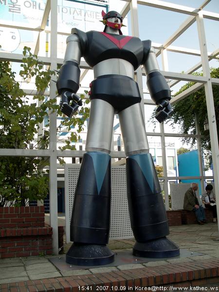 大型機器人塑像