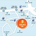 首爾動畫中心map