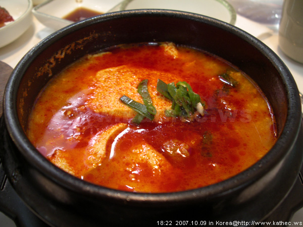 牛肉豆腐鍋